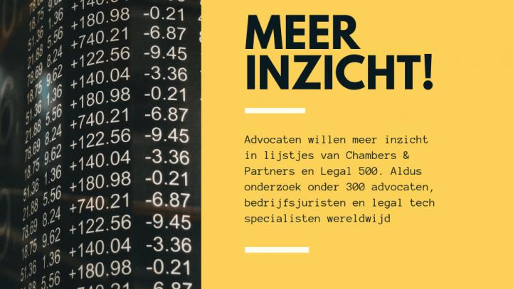 Advocatenblad: Praktijk heeft kritiek op advocatenoverzichten